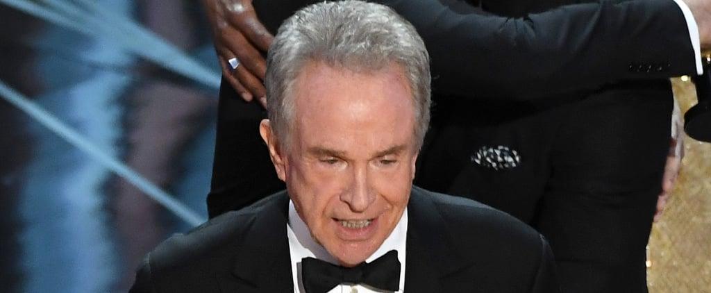 Warren Beatty Statement About Oscars Best Picture Mistake