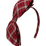 A flannel headband ($13) is the ultimate Fall accessory.