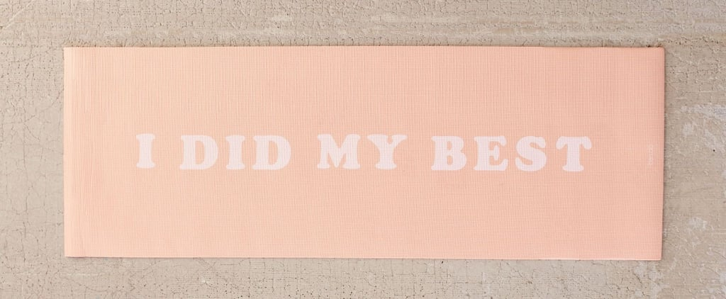 This Millennial Pink Yoga Mat Keeps It Real For 2018 — and It's Only $29!