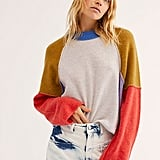 Free People Opposites Attract Cashmere Sweater