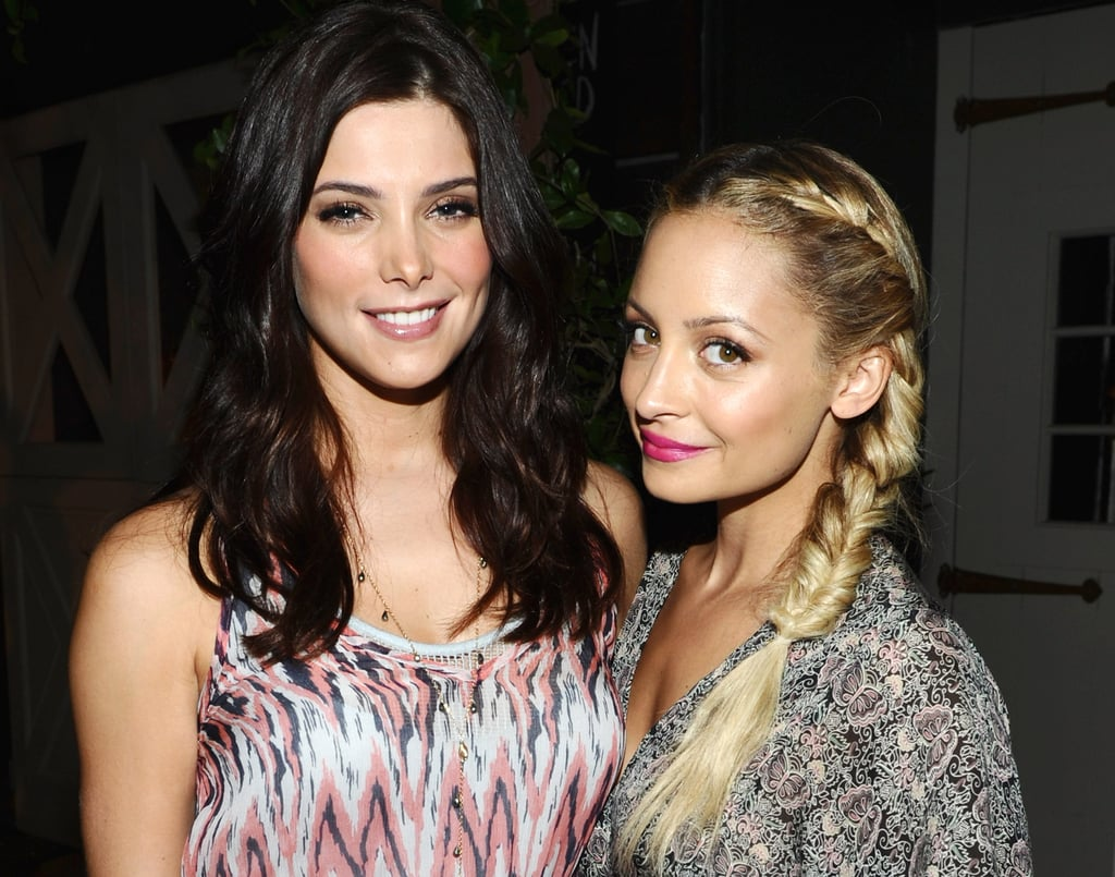 Nicole Richie hung out with Ashley Greene during Ella Moss's LA 10-year anniversary celebration in July 2011.
