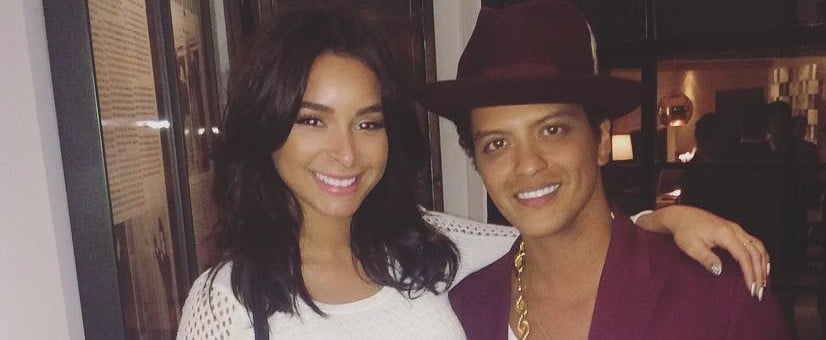 Bruno Mars and Jessica Caban Are 2 Hooligans Madly in Love