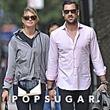 Kate Upton and Maksim Chmerkovskiy held hands as they walked down the street in NYC.