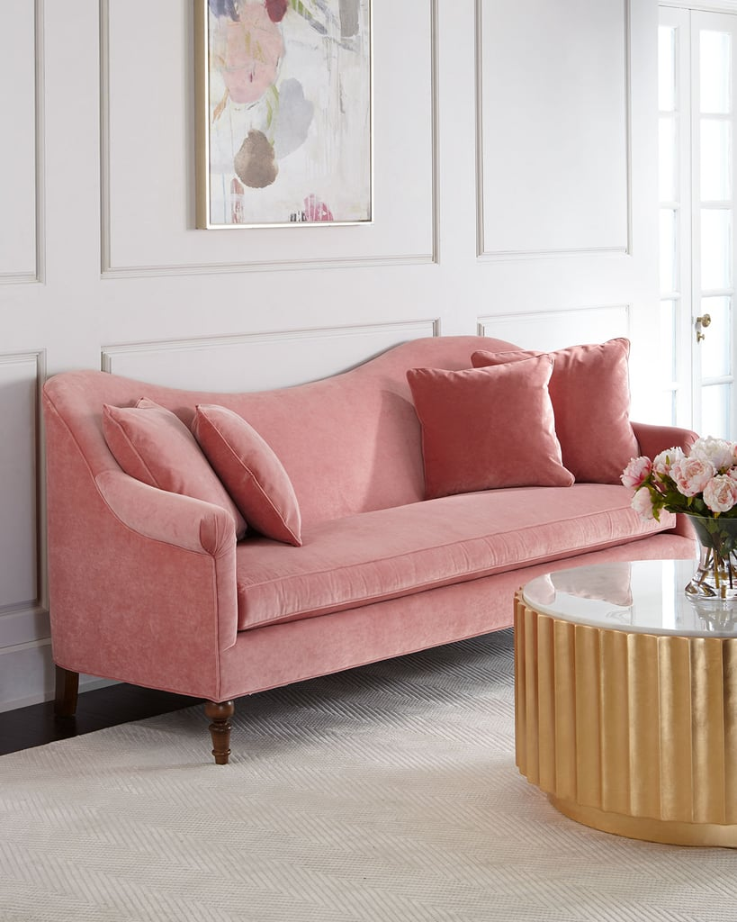 Cerise Velvet Sofa Best Pink Couches Popsugar Home Photo 6