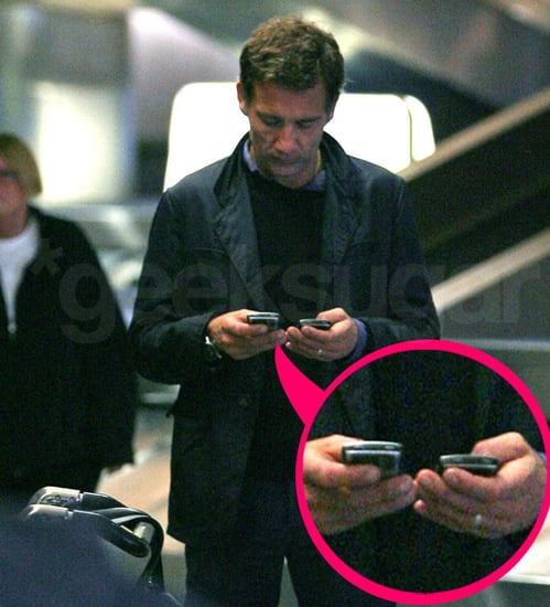 Clive Owen: One Man With Two Cell Phones