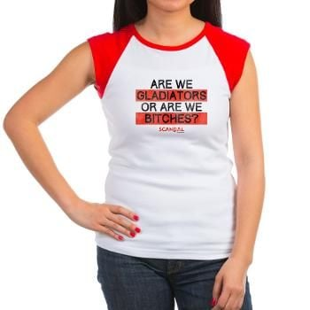 Are We Gladiators or Are We B*tches? Shirt ($25)