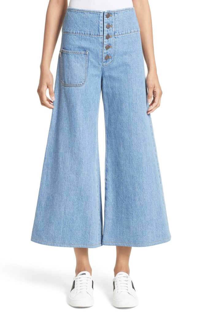 Marc Jacobs Crop Flare Jeans