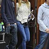 Gwyneth Paltrow shopped in NYC.
