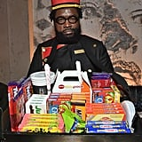 Questlove as a Concession Stand Worker
