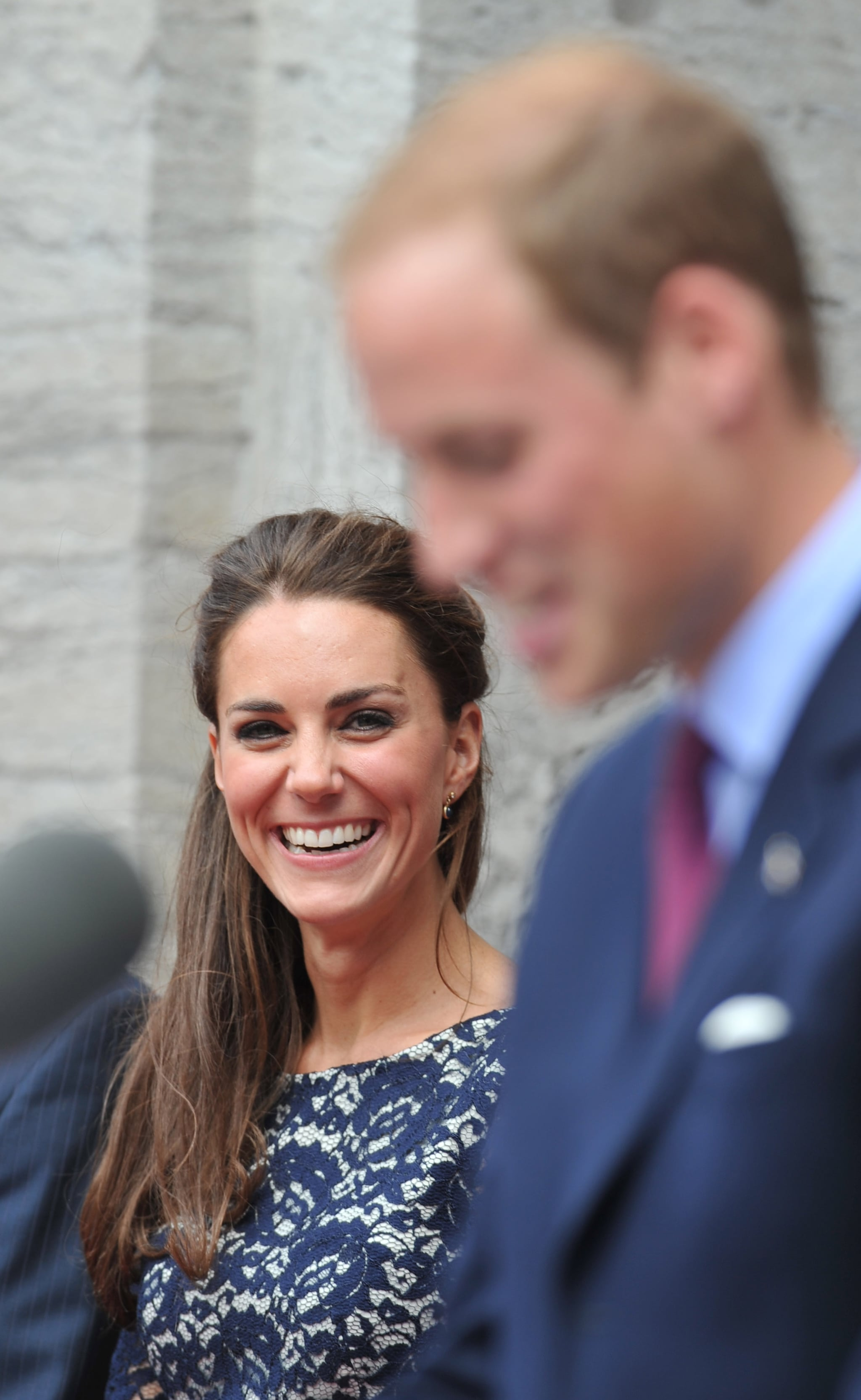 Prince William cracked up Kate after they arrived in Ottawa in 2011.