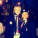 Kerri Lee Walsh and Misty May Traenor shared a photo from the Opening Ceremonies.  Source: Instagram user kerrileewalsh