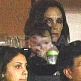 Victoria and Harper Beckham Take in a Galaxy Game With Eva Longoria!