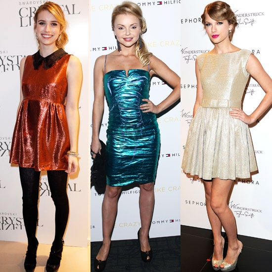 2011 Dress Trends on Taylor Swift, Emma Roberts, and Izabella Miko