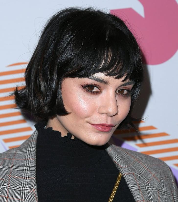 Vanessa Hudgens Bob iHaircutsi With Bangs 2020 POPSUGAR