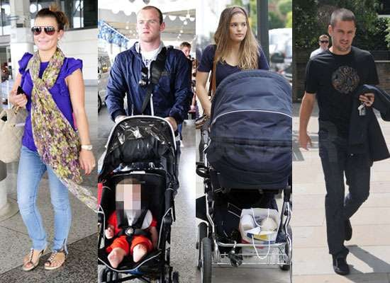 Pictures of Wayne and Coleen Rooney With Kai Rooney in Barbados Plus Carly Zucker Joe Cole With Ruby in London After World Cup