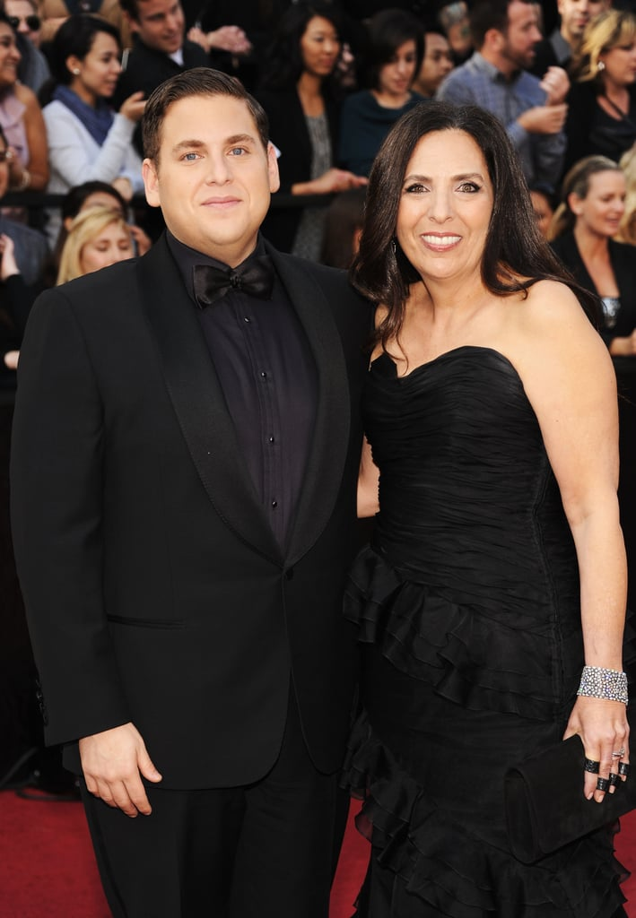 Jonah Hill Oscars Mom  Popsugar Love  Sex-3311