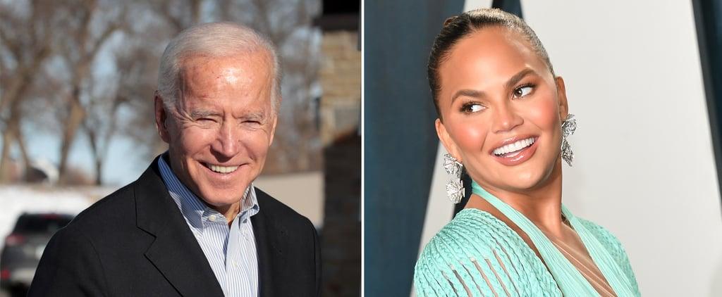 President Joe Biden Follows Chrissy Teigen on Twitter