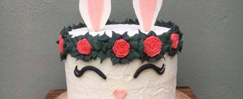 Prepare to Fall Down an Instagram Rabbit Hole Looking at These Magical Easter Bunny Cakes