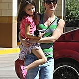 Leighton Meester Mingles With Little Ones While Adam Brody Grabs Lunch