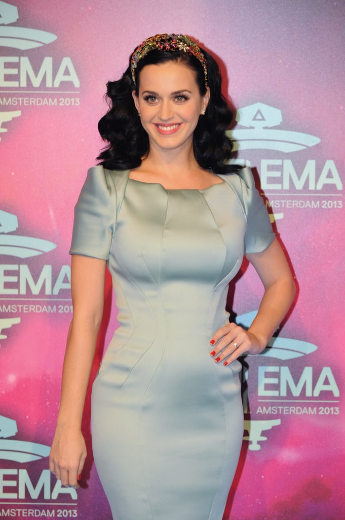 Katy Perry Takes Flight at the EMAs