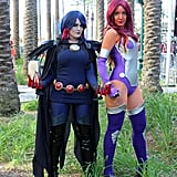 Raven and Starfire — Teen Titans