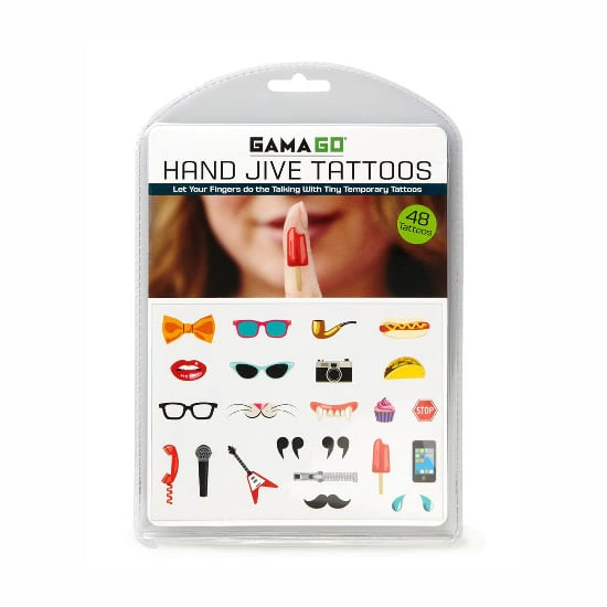 Hand Jive Tattoos, $9.95