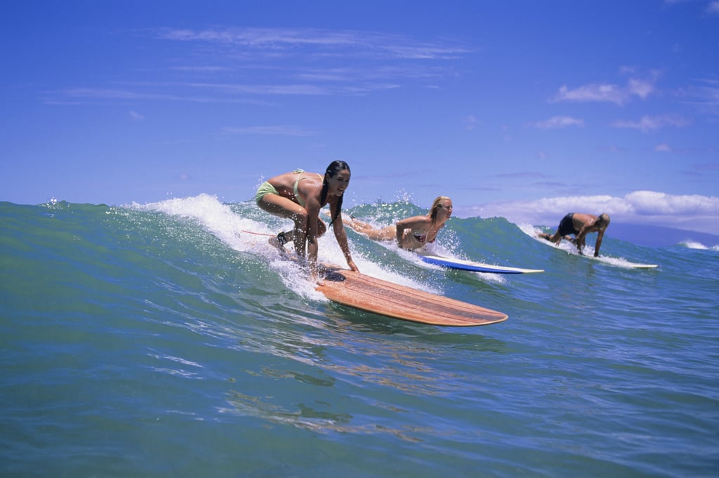 Stand Up on a Surfboard and Ride a Wave