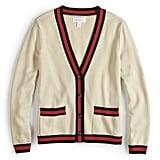 Editor's Pick — Varsity Striped Cardigan Sweater