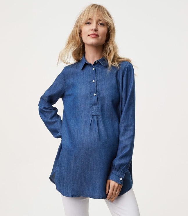 685ddc98345 Maternity Clothes at Loft   POPSUGAR Fashion