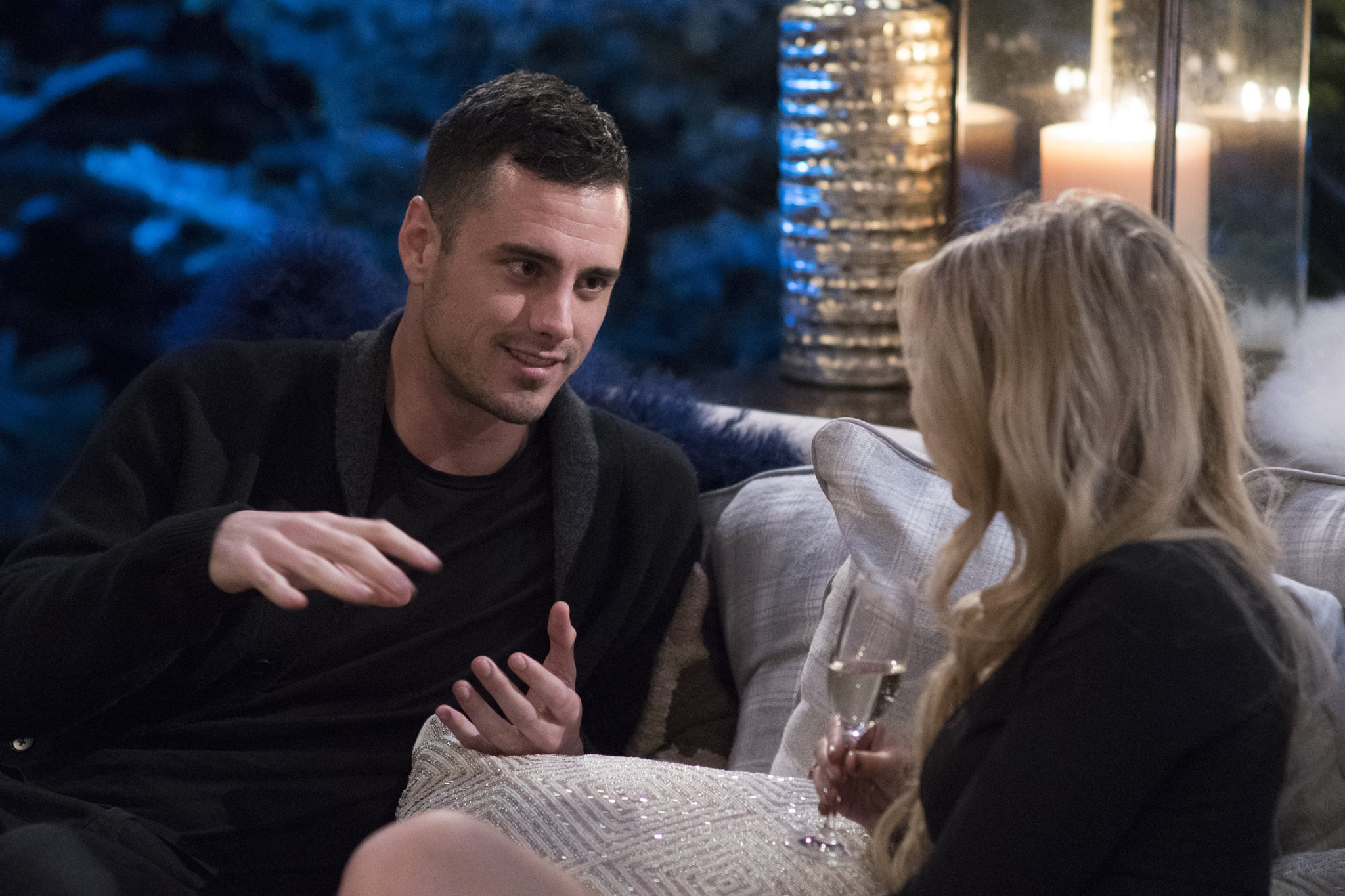 THE BACHELOR WINTER GAMES -  Is love the universal language? Find out as 14 international bachelors and bachelorettes from such countries as Switzerland, Japan and Australia compete and, hopefully, find love with 12 of Americas Bachelor Nation favourites. These singles will go head-to-head in winter-themed challenges, including the toughest sport of all - love. Chris Harrison hosts this highly anticipated, four-episode series, complete with the usual dose of tears, drama, romance and laughter, as The Bachelor Winter Games, a global celebration of unity and love, premieres on TUESDAY, FEB. 13 (8:00-10:01 p.m. EST), on The ABC Television Network. (ABC/Lorenzo Bevilaqua)BEN HIGGINS
