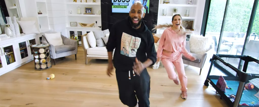 "Stephen ""tWitch"" Boss and Allison Holker Fun Dance Workout"