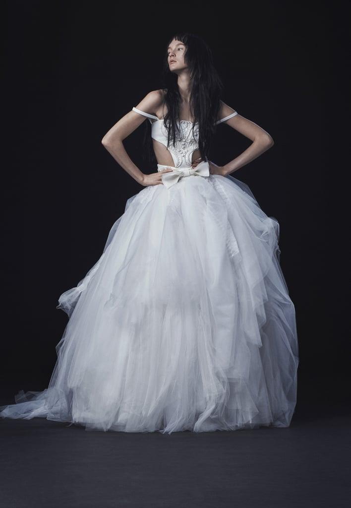 Vera Wang Marta Cutaway Ball Gown (available at Vera Wang boutiques ...