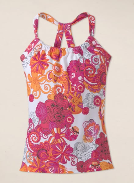 A sweet scoop neck and happy flower-power print make this Quinn Top ($52) a perfect pick for Spring.
