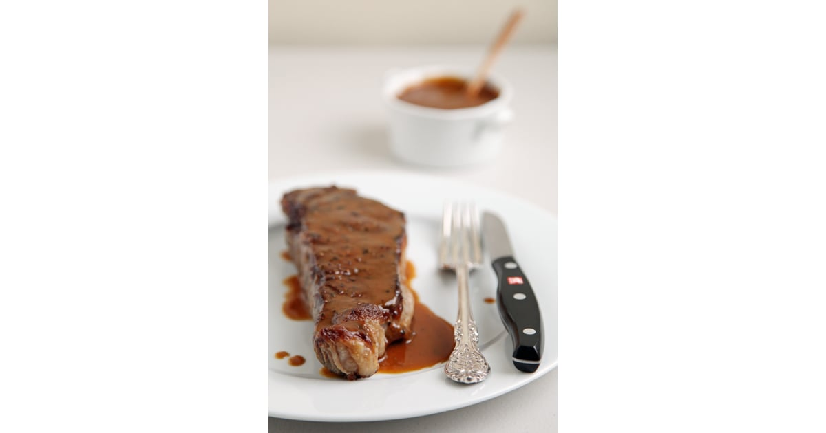 New York Strip Steak With Miso Mustard Sauce | Fast and ...
