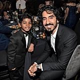 With Sunny Pawar.