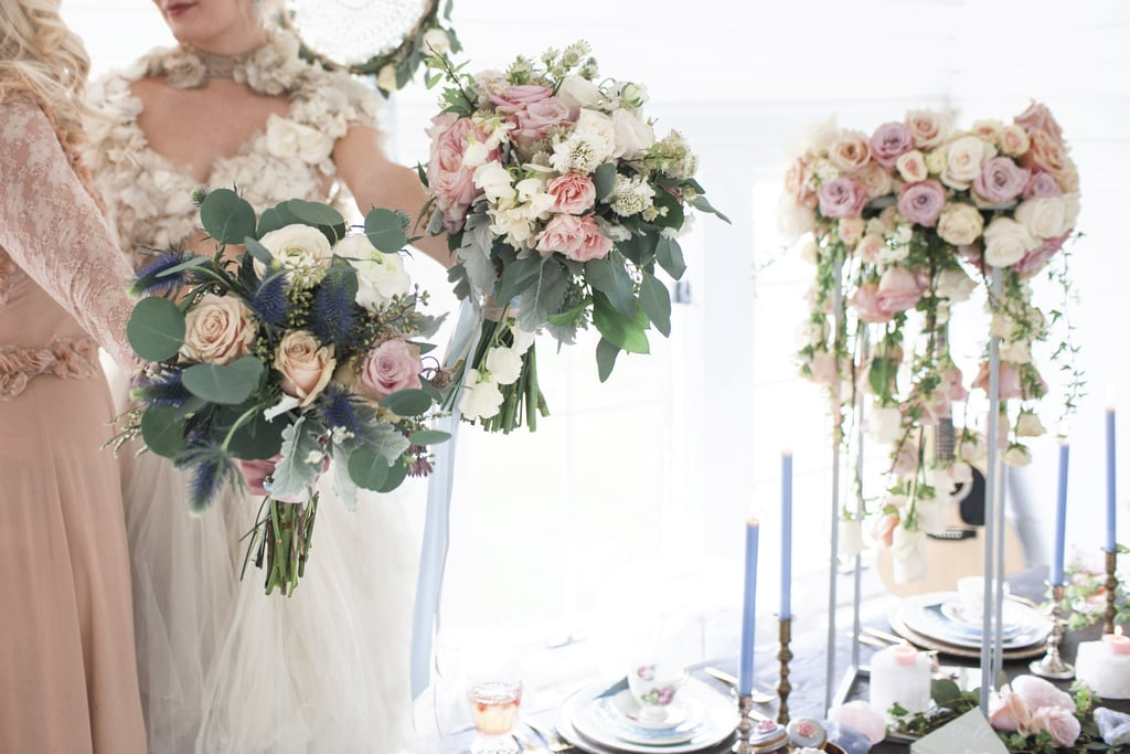 Marie Antoinette-Inspired Wedding