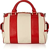 Z Spoke by Zac Posten Americana Patent Leather and Canvas Tote ($158, originally $350)
