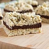 Sugar-Free No-Bake Oatmeal Fudge Bars