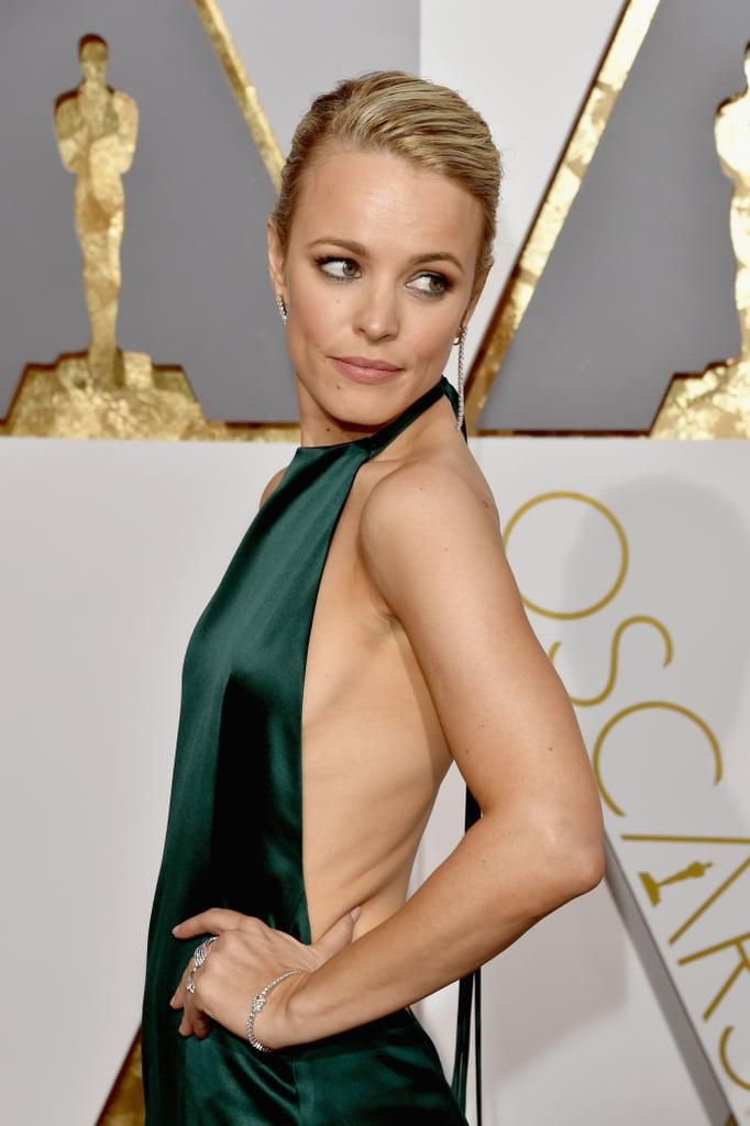 Rachel Mcadams Dress At Oscars 2016 Popsugar Fashion