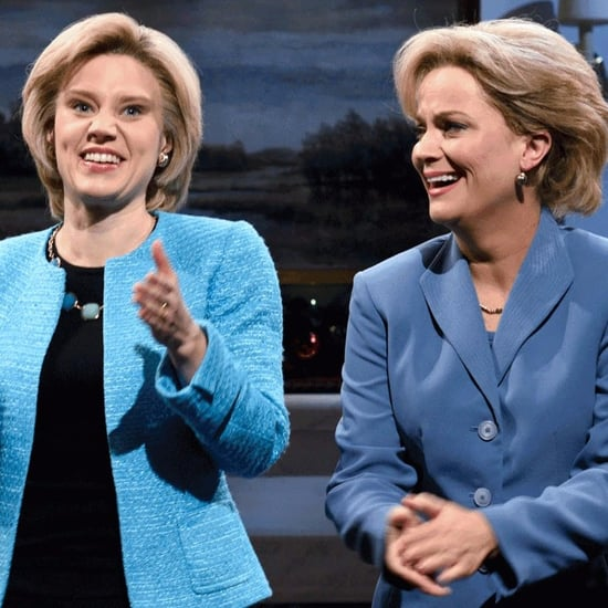 Amy Poehler as Hillary Clinton on Saturday Night Live 2015