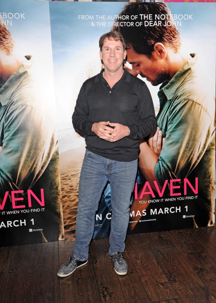 Author Nicholas Sparks attended a photocall for Safe Haven in the UK.