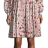 Valentino Floral-Print Silk Dress