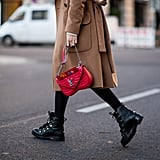How to Style Chunky Lace-Up Ankle Boots