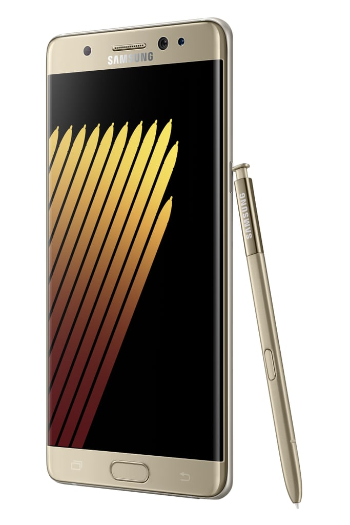 The Gold Platinum Galaxy Note 7 Available Only Internationally