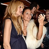 Rachel Zoe and Nicole Richie were spotted taking a candid photo.