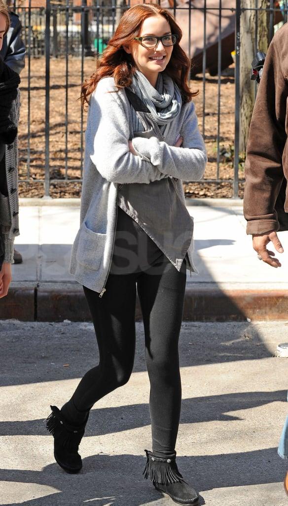 Photos of Gossip Girl Cast Filming in NYC