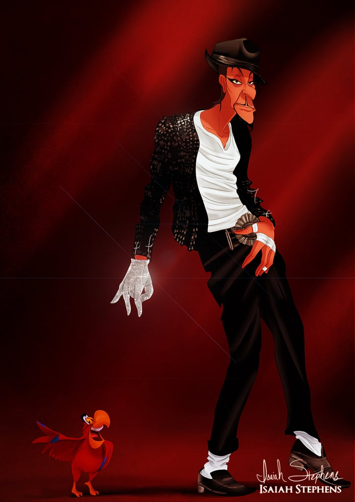 Jafar As Michael Jackson  Disney Villains In Halloween -2985