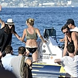 Kate Moss Parties in Ibiza With Jamie Hince | Pictures