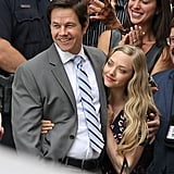 On Tuesday, Mark Wahlberg and Amanda Seyfried cuddled up on the Boston set of Ted 2.