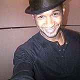 Usher snapped a self-portrait. Source: Twitter user UsherRaymondIV